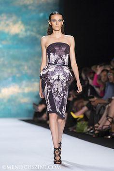 Monique Lhuillier, Spring 2013, New York Fashion Week. Source: Meniscus Magazine #moniquellhuillier #nyfw