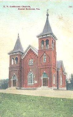 Lutheran Church, Rural Retreat, 1910