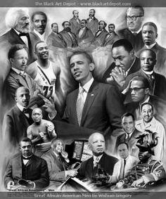 Inspirational Black men