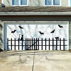 Scary  garage