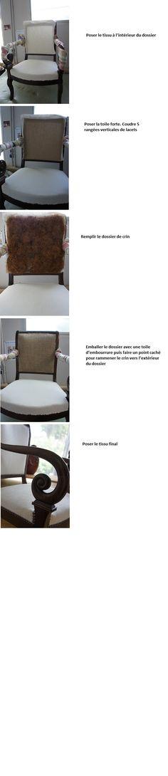 Comment retapisser un fauteuil Restauration ou Louis Philippe ? Vous trouverez ci dessous quelques photos de mes différents travaux de réfection d'un fauteuil Restauration. Cette page n'est p…