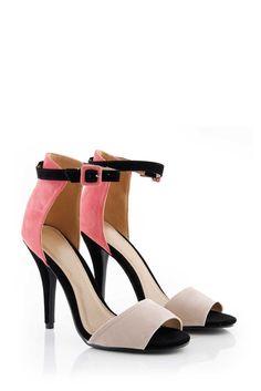 Coral Single Strap Heel Shoe