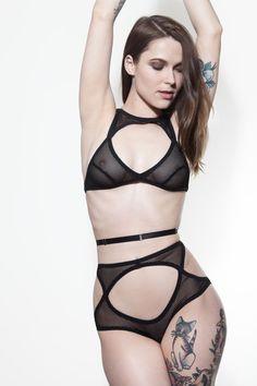 Rosie Bralette // Claudia Brief - Hopeless Lingerie