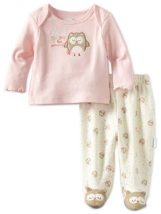 Another ohhhhhh!!!  Amazon.com: Vitamins Baby Baby-girls Newborn Owl See You 2 Piece Footed Pajama Set: Clothing