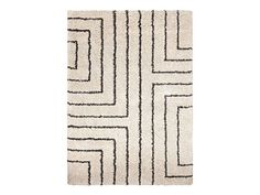 Ultra Plush rug by CORT. Square patterns break up a dull space. | cort.com