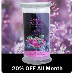 Save 20% Off every month on the Scent of the month at JIC!