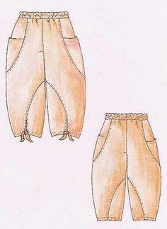 Eine extravagante Ballonhose!!! Eine legere Hose mit Gummizug im Bund, wunderschönen großen Eingrifftaschen seitlich über der Seitennaht. Die...