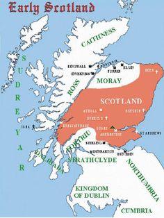 Maldred mac Crínán, Earl of Dunbar Scotland History, Uk History, History Photos, British History, Family History, Map Of Britain, Family Origin, Scottish Castles, Family Genealogy