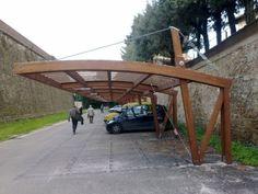 Diy Pergola, Wood Pergola Kits, Pergola Carport, Steel Pergola, Building A Pergola, Modern Pergola, Pergola Canopy, Pergola Swing, Deck With Pergola
