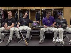 K-State Baseball - FREE Mustaches!