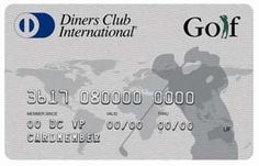 Diners Club Golf Card