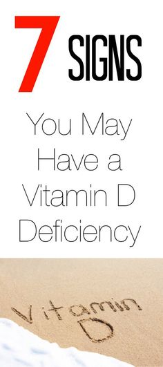 EVERYONE should read this...It may save a life!  7 Signs and symptoms you might have a vitamin D deficiency