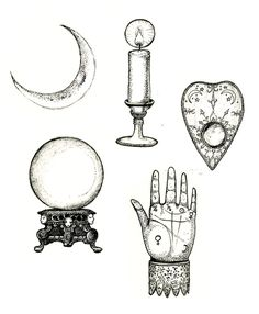 Image result for occult themed tattoos