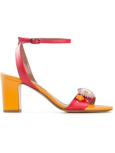 Shop Tabitha Simmons 'Leticia Flower' sandals in Coccodrillo from the world's best independent boutiques at farfetch.com. Shop 300 boutiques at one address.