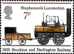 Royal Mail Special Stamps |Stephenson's Locomotion. 1825 Stockton and Darlington Railway