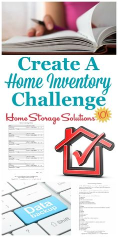 Step by step instructions for how to create a personal home inventory that you could present to an insurance company if the need ever arose, without the process getting too overwhelming. {part of the 52 Week Organized Home Challenge on Home Storage Solutions 101} #OrganizedHome #HomeInventory #HomeOrganization