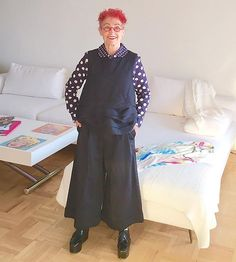 bc5b71674 This 70-Something-Year-Old Is the World s Coolest Comme des Garçons Fan