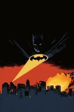 Legends of the Dark Knight #74 by Francesco Francavilla