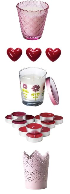 Candles and candle holders for Valentine's Day - we've got you covered!