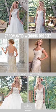 27 Best Of Romantic Wedding Dresses By Maggie Sottero ❤ All wedding dresses by Maggie Sottero are feminine, shining and seductive. See more: http://www.weddingforward.com/romantic-wedding-dresses-maggie-sottero/ #wedding #dresses
