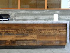 Reception desk ideas