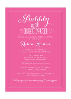 champagne brunch invitation bridal shower invitation brunch and bubbly invitation bridal shower invite printable bubbly