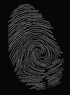 Exciting Typography Posters and Designs You're a fingerprint original!You're a fingerprint original! Graphisches Design, Graphic Design, Logo Design, Fourth Of July Crafts For Kids, Fingerprint Art, E Mc2, Instagram Story Ideas, Typography Poster, Typographic Logo