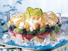 Layered Yogurt Fruit Salad (Gluten Free)