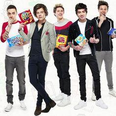 One Direction 2013 Photo Shoot   One Direction, photoshoot pour leur comanditaire Nabisco ! - La ...