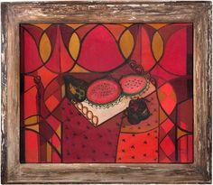 Amelia Peláez, Bandeja con Frutas (Sandía), 1941