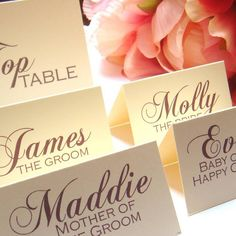 Wedding stationary - complimentary fonts