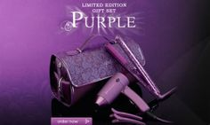 http://www.fowomen.com/ GHD purple Straightener never seem to fail to please with their innovative and fashion-forward designs; this years ghd Limited Edition Purple Mark IV Styler Gift Set is no different, with not only a sexy ghd Limited Edition Purple Mark IV Styler but fantastic travel accessories too including a travel hairdryer!!!