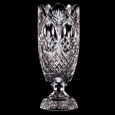 Vase, Waterford crystal. Call Rhonda at 800-244-2941