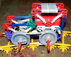 K'nextravagant Kreations: Knex Electric Train