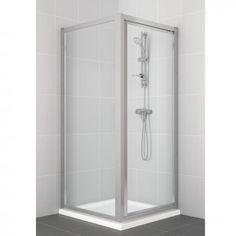 Ideal Standard New Connect Pivot Corner Shower Door 760mm - L6642VA'