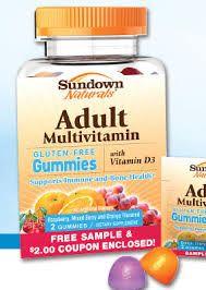 Sundown Naturals Offers FREE Samples of Multivitamin Gummies!