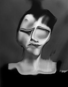 French photographer Laurence Demaison sometimes combines black and white photos with her own drawing generating a ghostly finished product. Distortion Photography, Dark Photography, Conceptual Photography, Contemporary Photography, Portrait Photography, Minimalist Photography, Exposure Photography, Abstract Photography, Fashion Photography