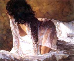 Sensual watercolors by Steve Hanks