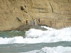 https://flic.kr/p/tYPY7z | Playas Olón Ecuador | pescadores en Olón
