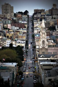 I never get tired of looking at pictures of San Francisco...such a photogenic city!