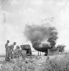 Syria 13 june 1941 - a 2pdr anti tank gun - pin by Paolo Marzioli