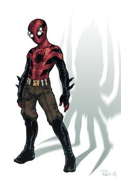 Spider-Man costume redesign By PaleLonginus