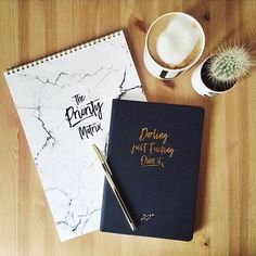 SHOP NOW OUR PRIORITY MATRIX AND NOTEBOOKS📚☝️️ #realpassionates REGRAM FROM MY BESTIE ❤️👯 #stationery #prioritymatrix #cactus #designletters #darling #ownit #writeitdown #daretobegin #papergoods #writingpad #notepad #backtopaper #penandpaper #paperlove #passioniseverything #design #followthatdream #thelittlethings
