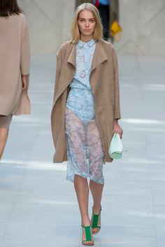 Burberry Spring 2014 Ready-to-Wear Fashion Show - Astrid Eika