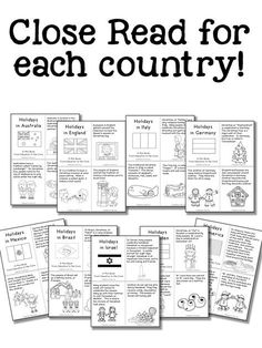 Christmas Around the World Activities and a FREEBIE! – Education to the Core Christmas Around the World Activities and a FREEBIE! Christmas Around the World Holiday Activities, Classroom Activities, Class Activities, Classroom Decor, School Holidays, Christmas Holidays, Christmas Facts, Christmas Writing, Winter Holiday