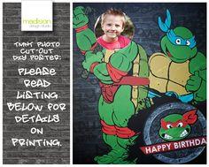 Teenage Mutant Ninja Turtle  Photo Cut Out by MadisonDesignShop