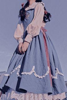 Princess Aesthetic, Aesthetic Girl, Aesthetic Clothes, Pretty Dresses, Beautiful Dresses, Cute Fashion, Fashion Outfits, Fairytale Dress, Fantasy Dress