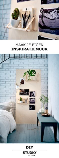 STUDIO by IKEA - Maak je eigen inspiratiemuur | #STUDIObyIKEA #IKEA #IKEAnl…