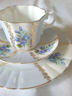 Antique Signed Royal Grafton Fine Bone China by MariasFarmhouse, $125.00