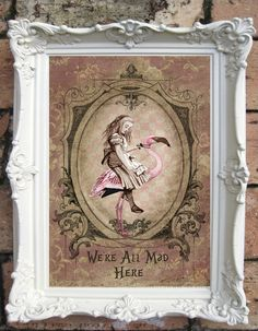 Hey, I found this really awesome Etsy listing at https://www.etsy.com/listing/194111622/alice-in-wonderland-quote-art-print